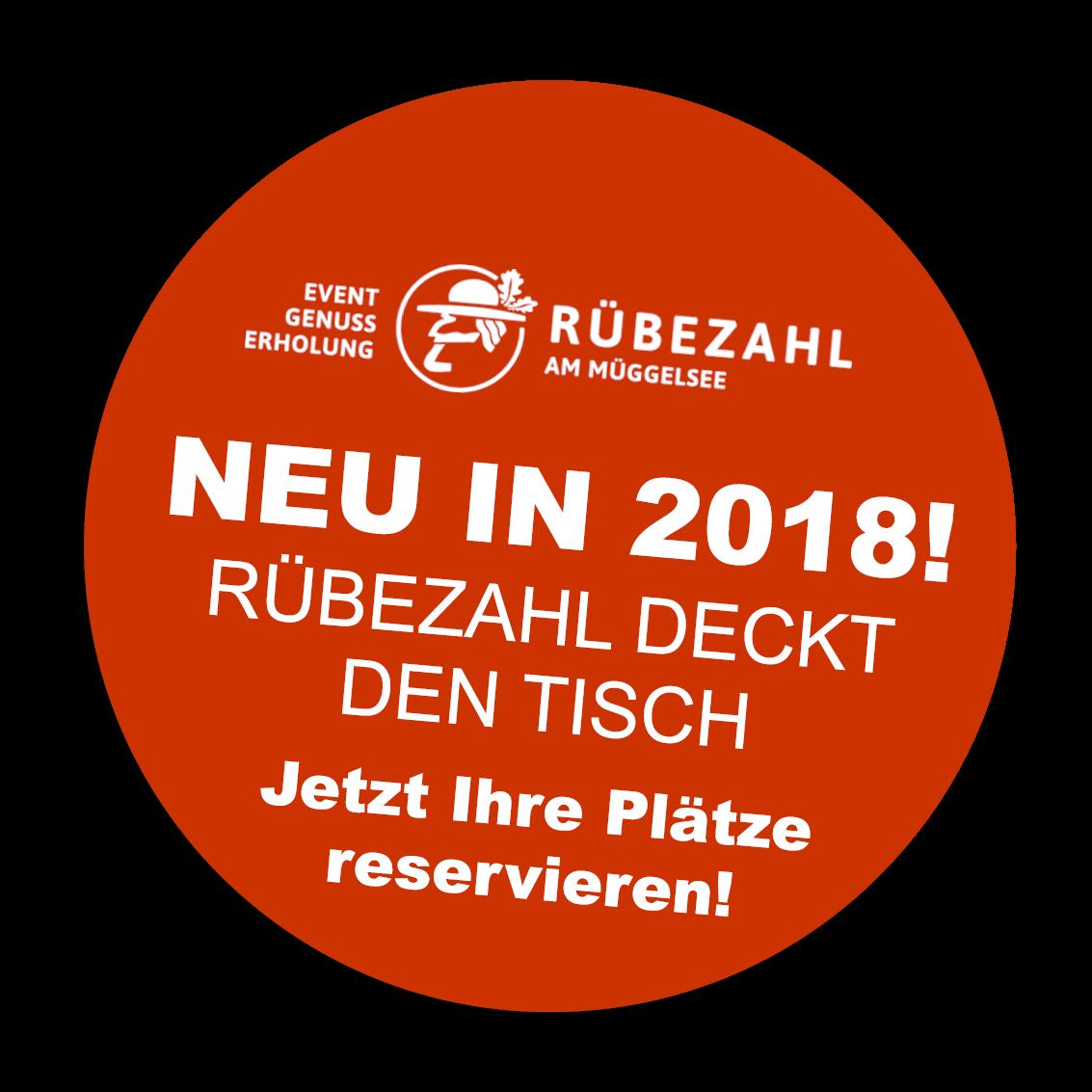 Rübezahl deckt den Tisch - Veranstaltungen 2018