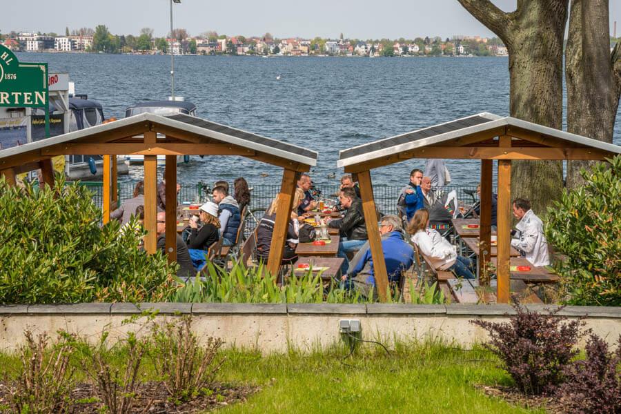 Biergarten Berlin - Der Seegrill am Müggelsee