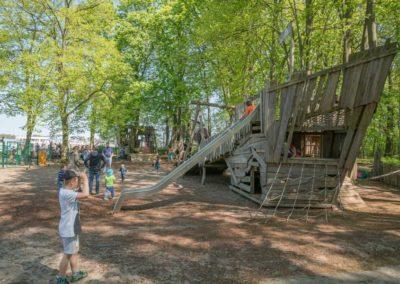 Abenteuerspielplatz aus Holz