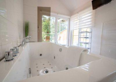 Whirlpool im Bad eines jeden Hauses