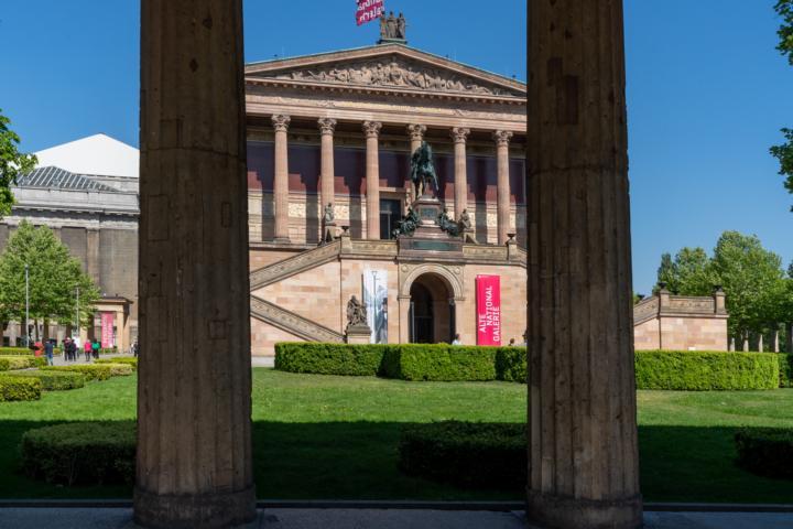 Die Alte Nationalgalerie zu Berlin