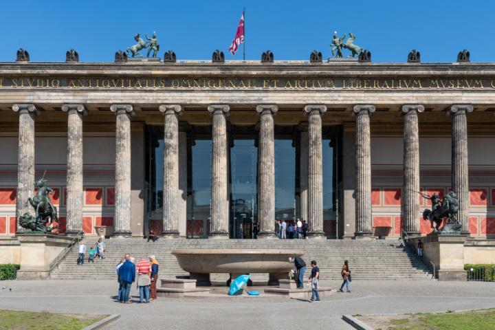 Das Alte Museum zu Berlin