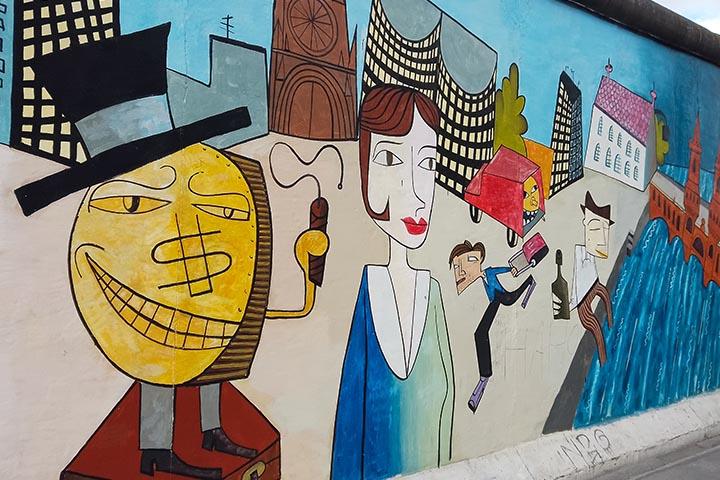 Kunst an der Berliner Mauer