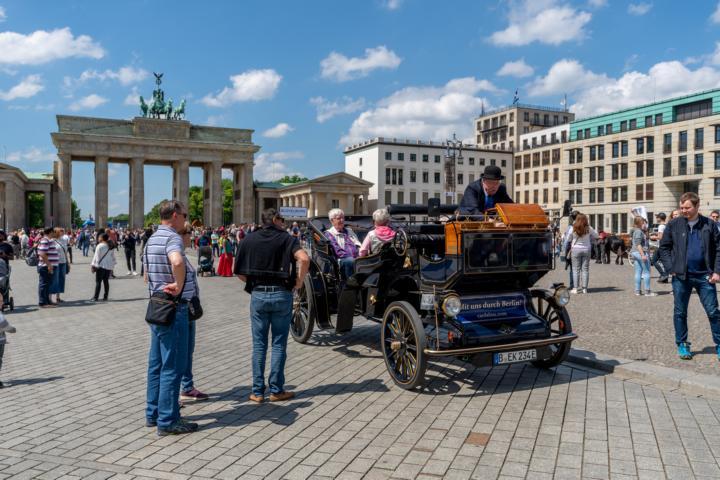 Die Sehenswürdigkeit in Berlin: Das Brandenburger Tor