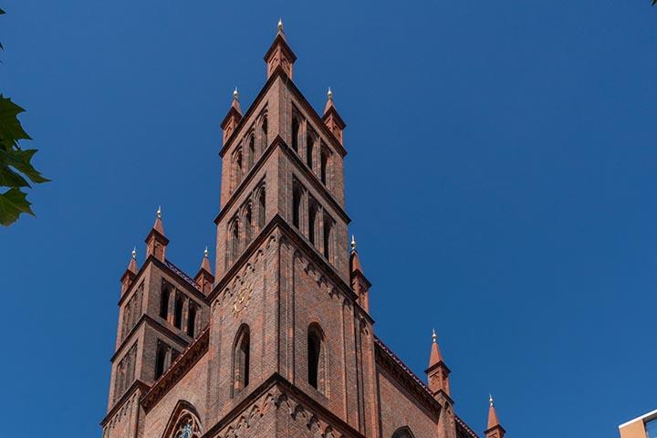 Die Friedrichswerdersche Kirche in Berlin