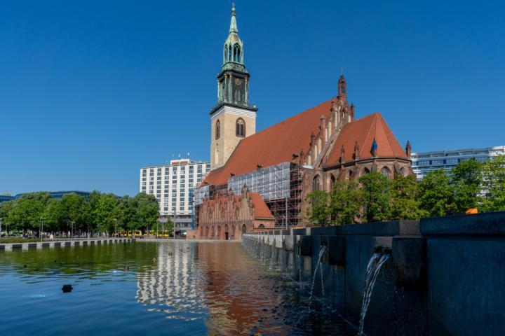 Die Marienkirche zu Berlin