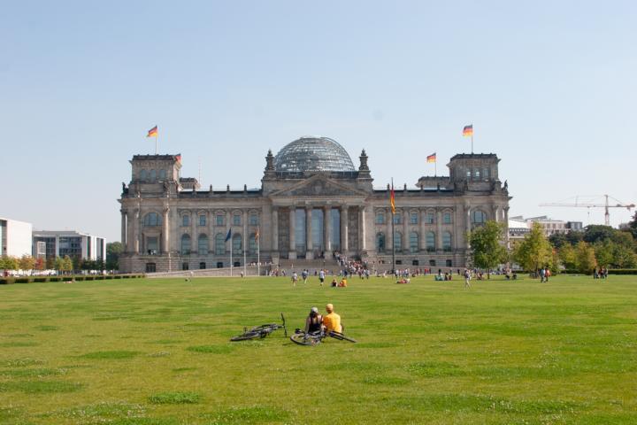 Der Reichstag zu Berlin