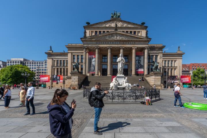 Das Schauspielhaus am Gendarmenmarkt