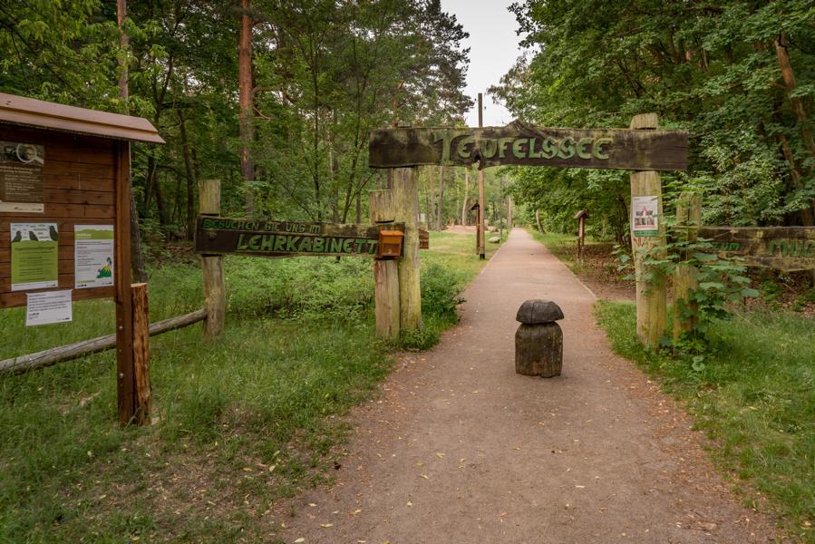 Ausflugsziel in Köpenick: Das Lehrkabinett Teufelssee
