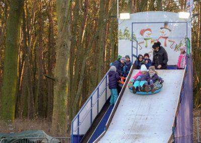 Am Müggelsee: Reifenrutsche im Rübezahl in Köpenick