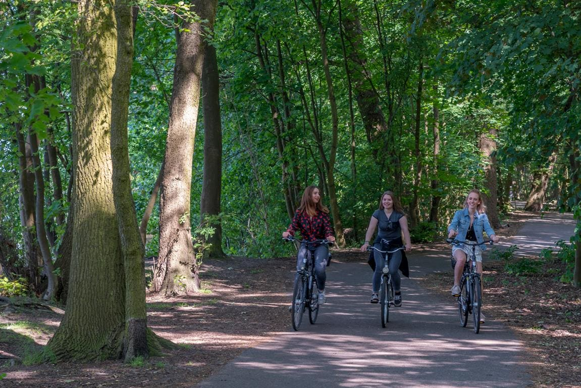 Fahrradtour in Köpenick mit Müggelsee, Müggelheim und Langem See